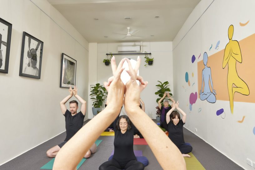 Continuing the female lead Gita Yoga tradition of championing the human condition through science and yoga.